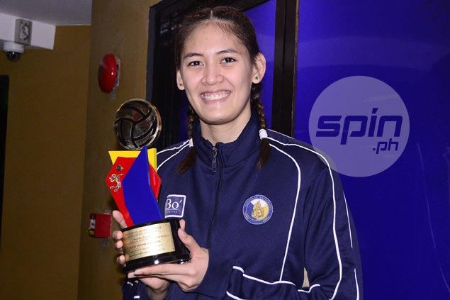 Jaja Santiago adds another individual accolade after winning PVL Collegiate Conference MVP