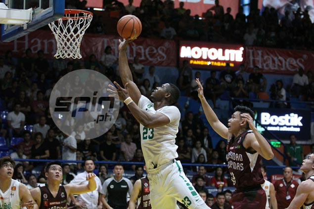Too much Ben Mbala as La Salle Green Archers settle a score with UP Maroons