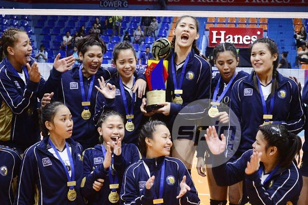 Jaja Santiago, Jasmine Nabor have the perfect incentive in mind after sweet NU sweep