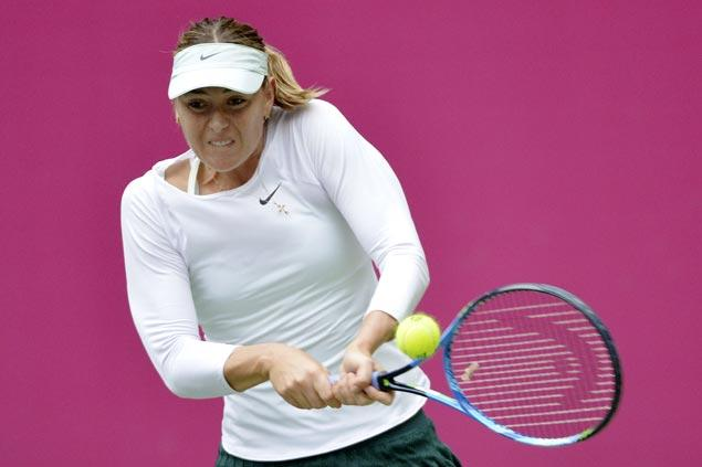 Maria Sharapova tops China tourney for first WTA title since doping ban