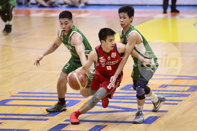 Letran Knights survive scare from Benilde to stay in contention for Final Four spot