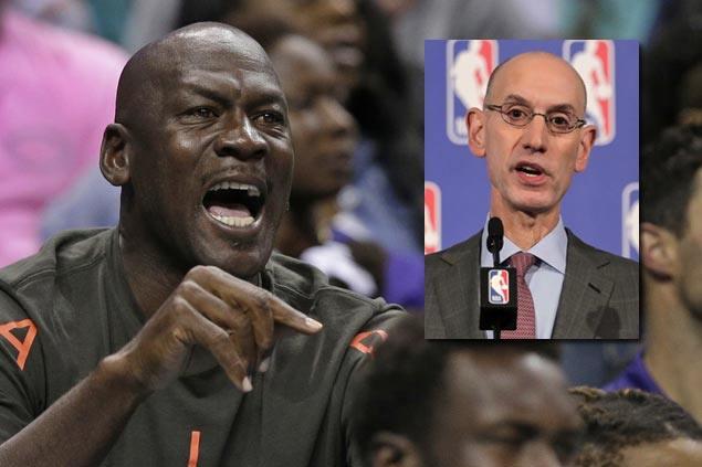 NBA commissioner defends 'super team' era, sees tough competition for Warriors, Cavs