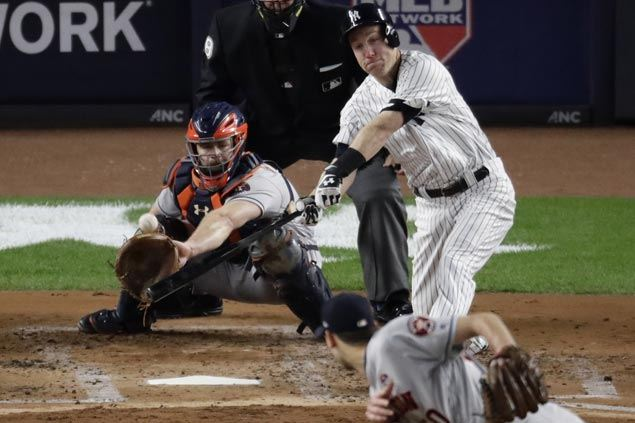 Yankees take control early and cruise to Game Three victory over Astros to cut ALCS deficit