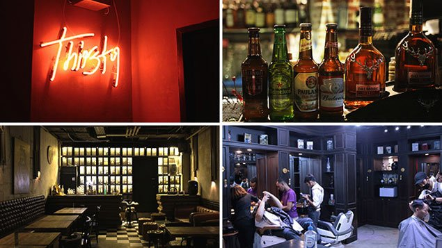 Look good, feel buzzed with this unique bar-and-barber shop spot Thirsty Barber