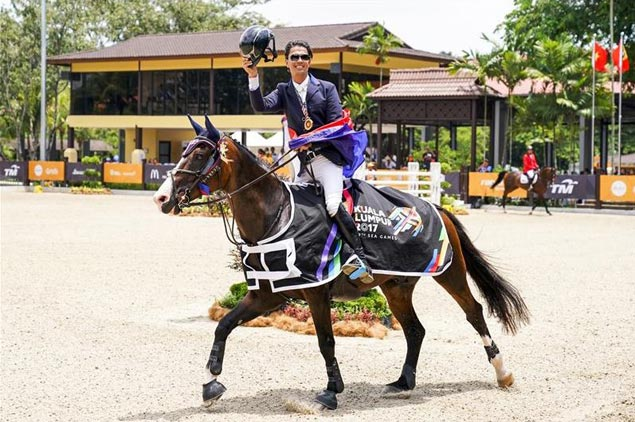 SEA Games gold medalist Colin Syquia, horse suspended by world equestrian body