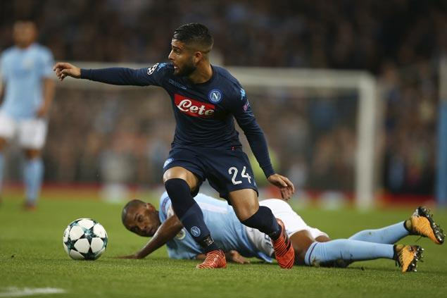 Manchester City edges Napoli in clash of Premier League and Serie A leaders