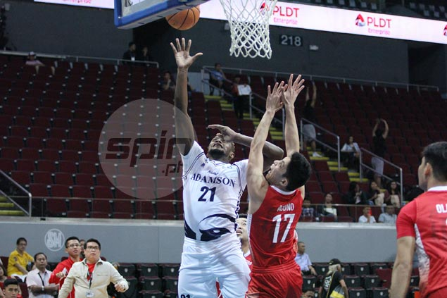 Adamson Falcons tighten grip on third spot with big victory over UE Warriors