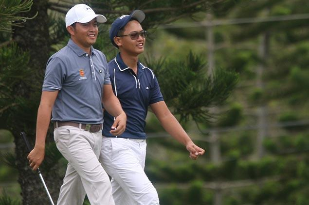 Gamolo, Magcalayo earn share of National Pro-am lead after fiery 68