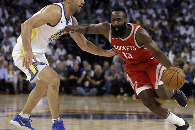 Rockets catch fire in the fourth to escape with stunning comeback win over Warriors