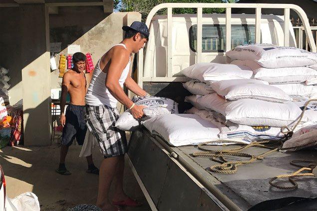 LOOK: June Mar Fajardo does offseason heavy lifting in dad's feeds business