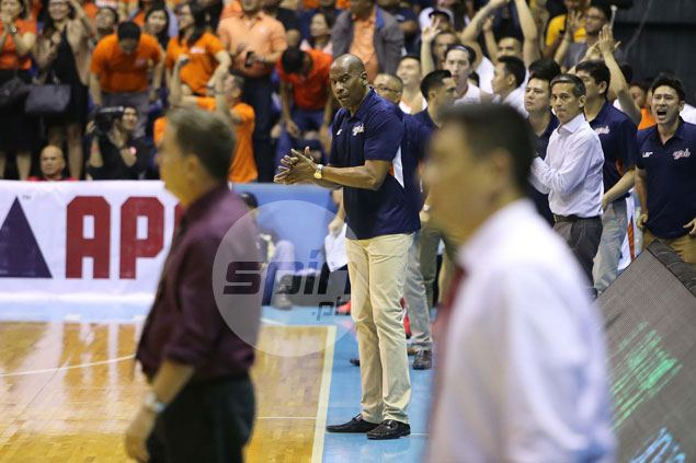 Norman Black dismisses Tim Cone anger over late timeout: 'That's his problem, not mine'