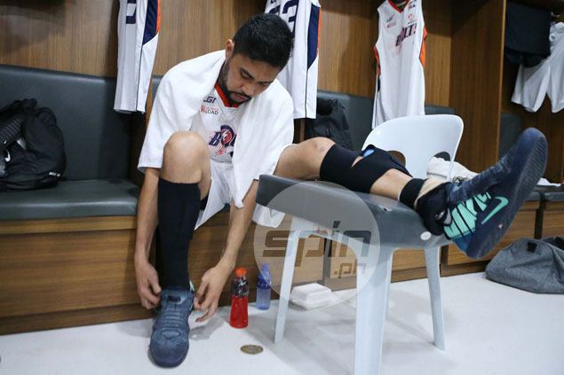 Ranidel de Ocampo comeback derailed as veteran goes down with mild Achilles tear