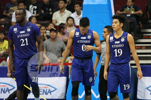 Thirdy Ravena shakes off hard tackle from Dave Yu: 'Just had to take it like a man'