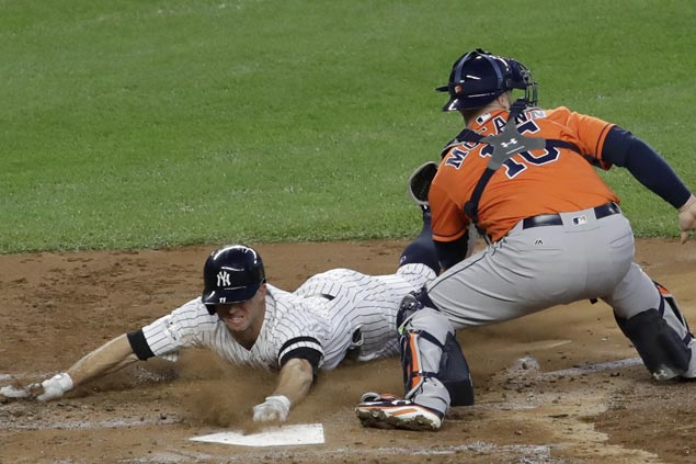 Wild card Yankees close in on World Series, score third straight win to take ALCS lead over Astros