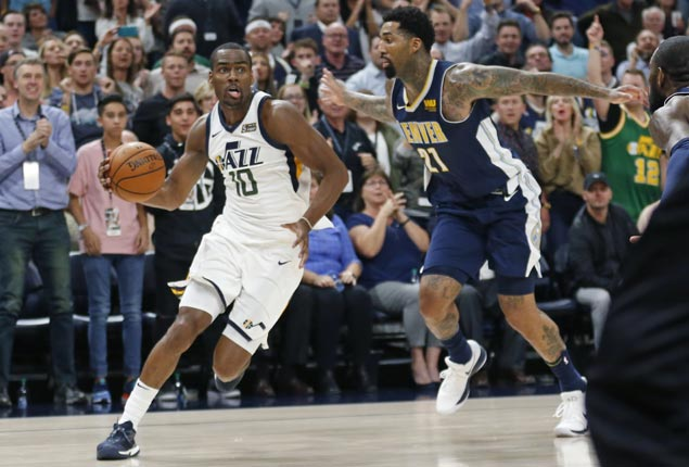 Alec Burks leads second-half surge as Jazz down Nuggets