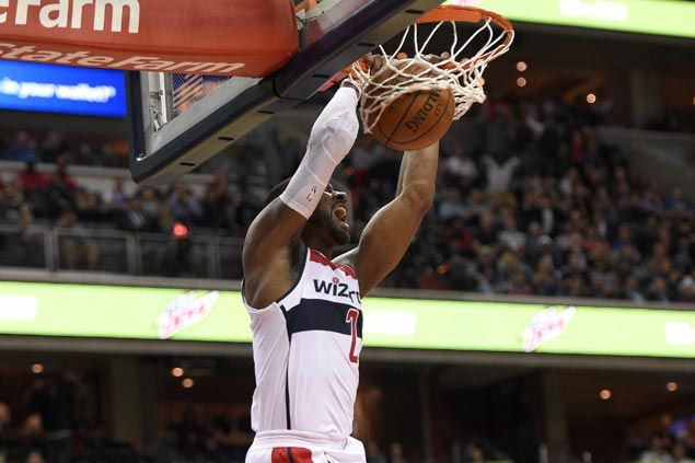 Wall and Beal show way as Wizards down Sixers, spoil debut of top picks Simmons and Fultz