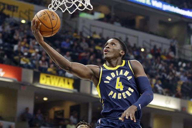 Victor Oladipo shines as revamped Pacers edge Nets in high-scoring opener