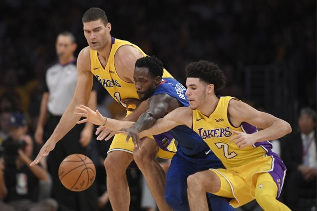 Rude awakening for Lonzo Ball as Beverley 'welcomes his little young ass to the NBA'