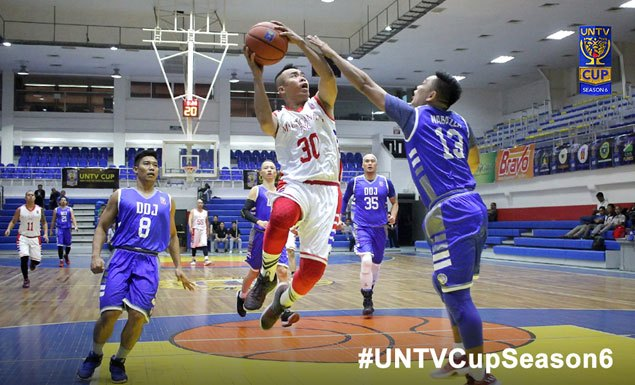 PNP, Malacanang eye third straight win in clash with separate foes in UNTV Cup