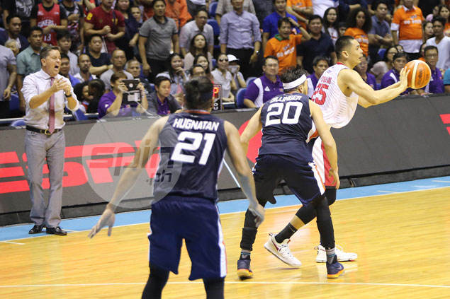 Tim Cone laments Ginebra failure to call a timeout in the din of wild Game Four ending