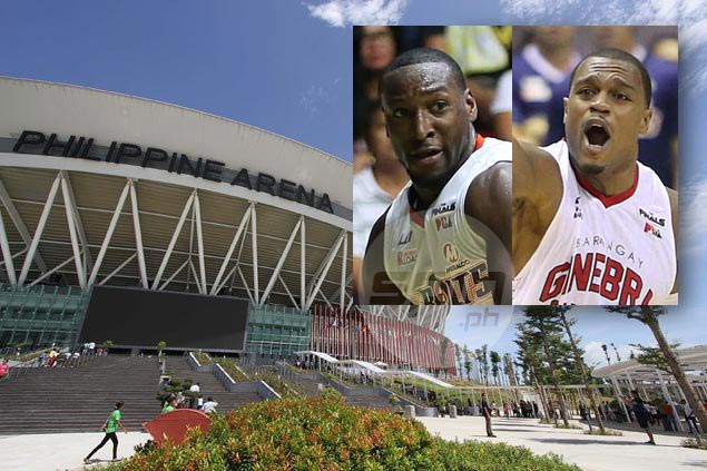 Ginebra, Meralco relish playing in 55,000-seat Philippine Arena as they seek to break tie in title series