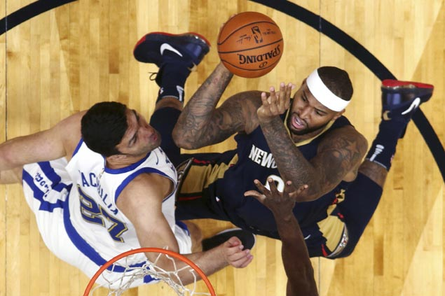 DeMarcus Cousins lauds Pelicans progress after leading big early, falling short late vs Warriors
