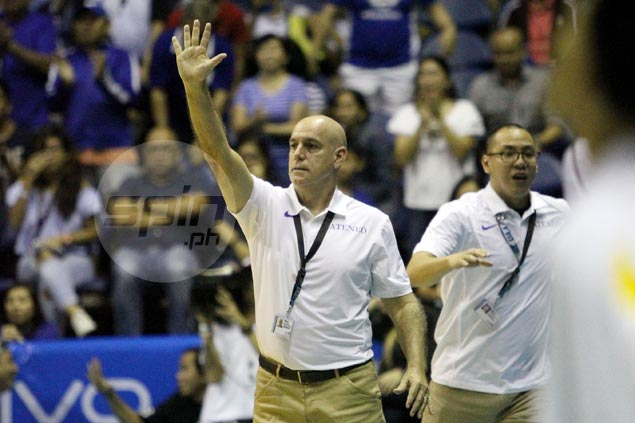 Ateneo taking it one game at a time even as talk of rare UAAP sweep grows louder