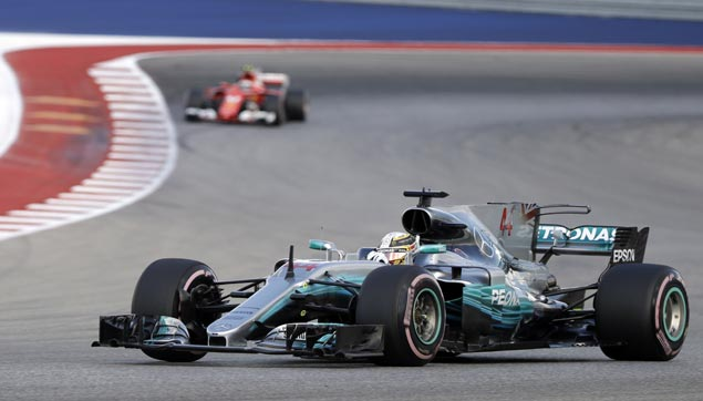 Lewis Hamilton takes pole, Sebastian Vettel to start from No. 2 spot in US Grand Prix