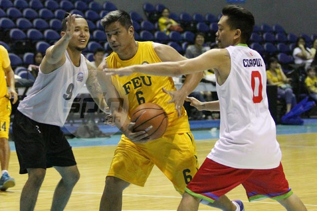 Johnny Abarrientos, Jojo Lastimosa suit up as FEU scores big win in UAAP goodwill games