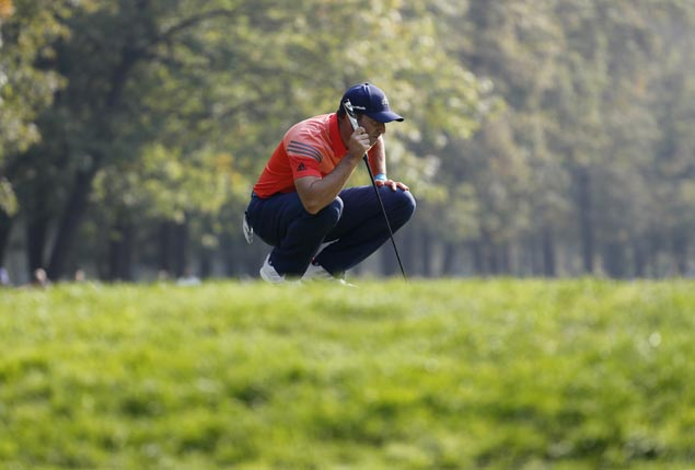 Tournament host Sergio Garcia carries one-stroke lead into final round of Andalucia Masters