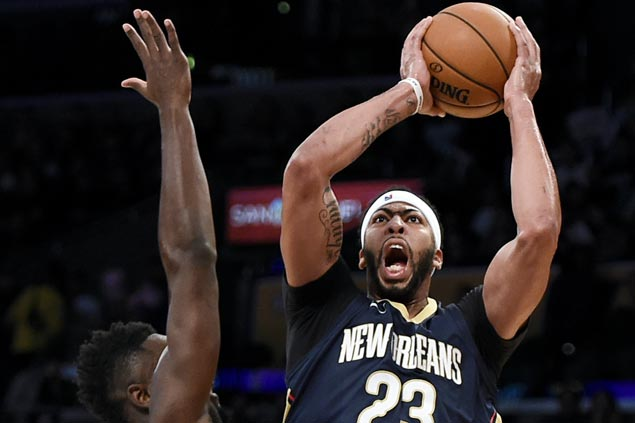 Boogie-Brow overcomes Jordan Clarkson's solid game as Pelicans down Lakers