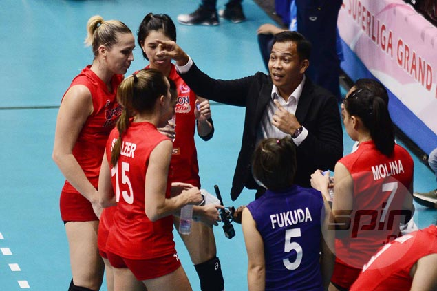 Coach Shaq hopes to get locals more involved after importscarried Petron to opening win