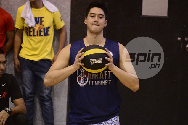Andreas Cahilig keeps positive outlook in coming PBA draft despite going down with hamstring injury