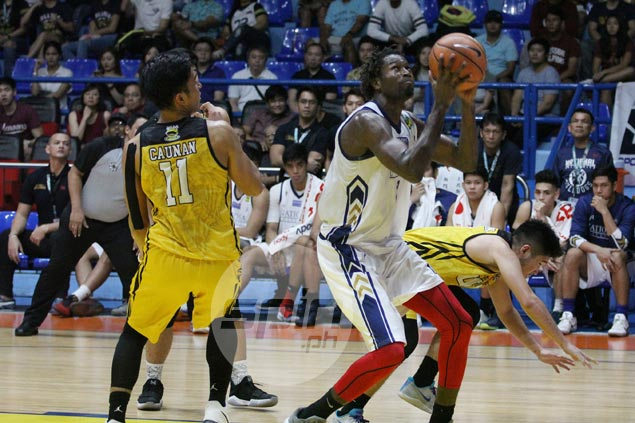 Issa Gaye offers strong bounce back game to suspended NU coach Jamike Jarin