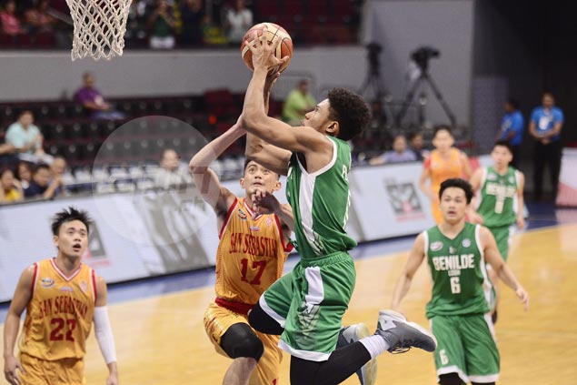 Greenies rip Staglets in playoff for No. 4 to arrange NCAA Jrs semis showdown with top seed Red Cubs