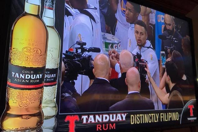 Tanduay lands milestone two-year partnership deal with Golden State Warriors
