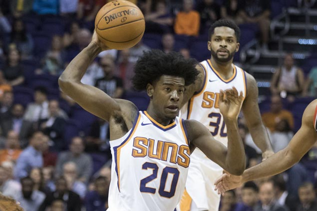 Suns rookie Josh Jackson fined $35,000 for gun gesture and inappropriate language