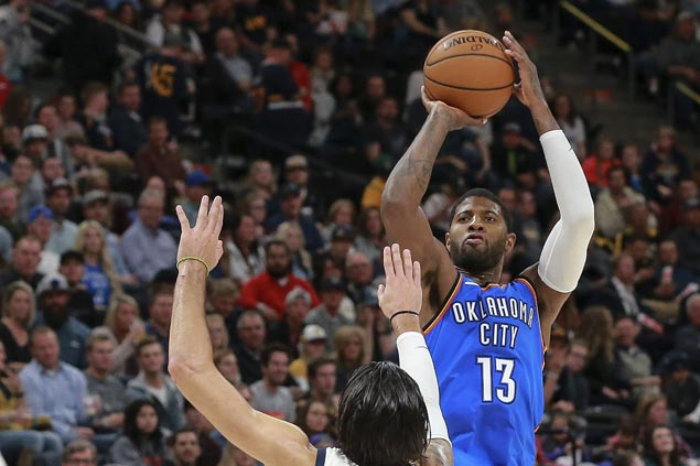 Yet to find his rhythm with Thunder, Paul George set for early-season matchup against former team Pacers