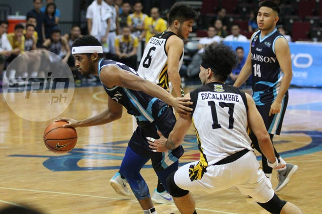 Adamson hero Jerrick Ahanmisi irked by close call vs UST: 'We should've been better'