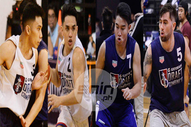 Grospe, Herndon, Casino, Manuel prove they deserve second looks in PBA Rookie Draft