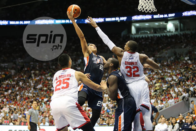 Hugnatan up to old tricks again as Meralco drags Ginebra into deciding Game 7