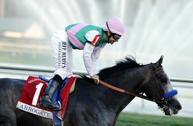 Bob Baffert's Arrogate returns to defend Breeders' Cup Classic