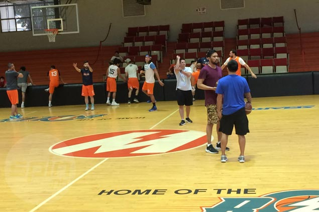 Mood calm as Black, Meralco Bolts prepare for biggest match in franchise history
