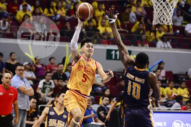 Surging Stags defuse Heavy Bombers to advance in NCAA stepladder semis vs Red Lions