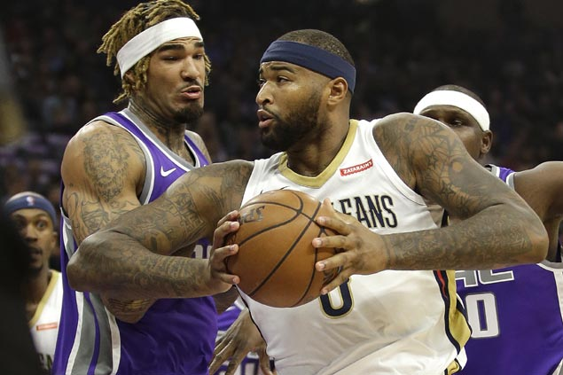 DeMarcus Cousins monster 40-20 game powers Pelicans rally from 19 points down to beat Kings