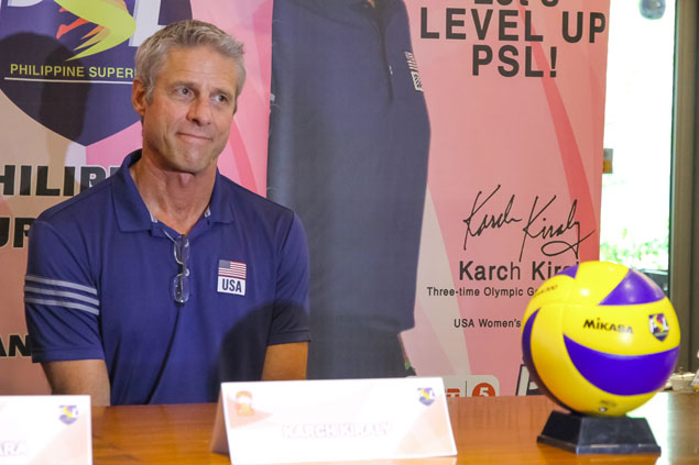 US coach Karch Kiraly believes Filipino players can emulate Japan, Thailand success