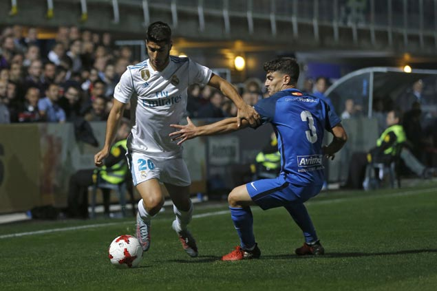 Depleted Real Madrid avoids upset ax against third-tier Fuenlabrada in Copa del Rey