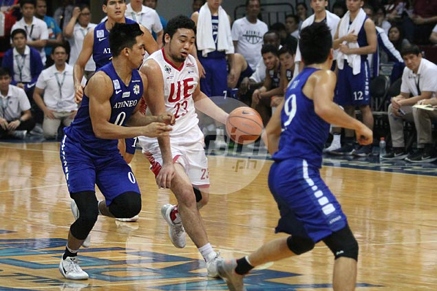 Thirdy Ravena does well on both ends, commends Eagles for shutting down prolific Alvin Pasaol