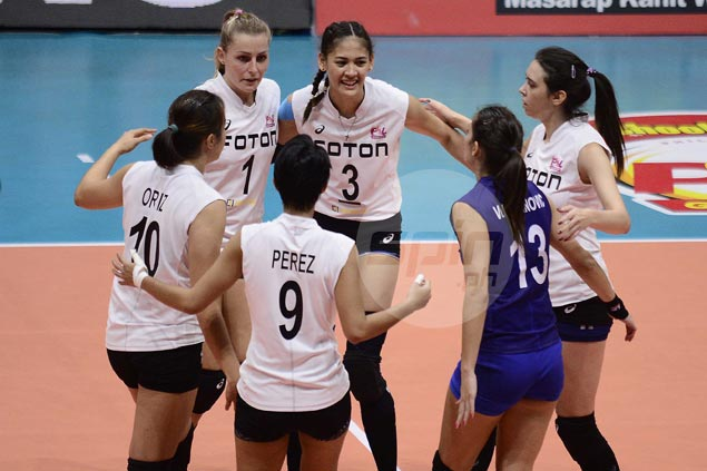 Treble-seeking Foton gains share of lead, deals Cocolife second straight loss in PSL Grand Prix