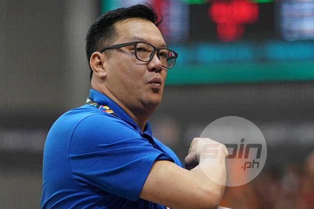 NU Lady Bulldogs overcome coach's ejection to beat Ateneo Lady Eagles and keep slateunblemished